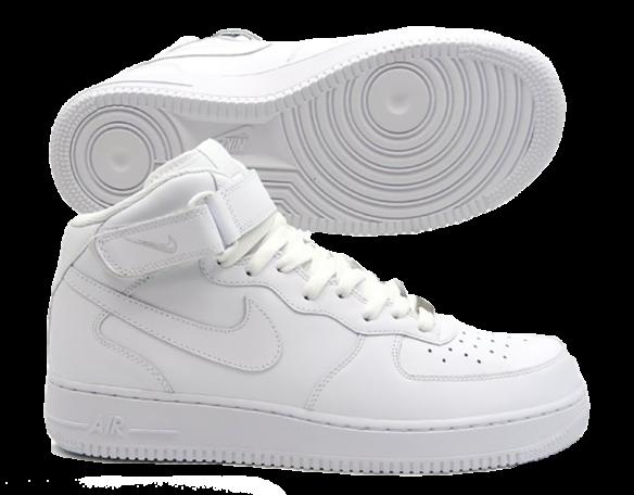 Nike Air Force 1 Mid Белые