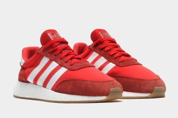 Фото Adidas Iniki Runner Boost красные - 3