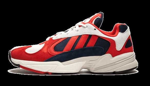 Adidas Yung 1 красные