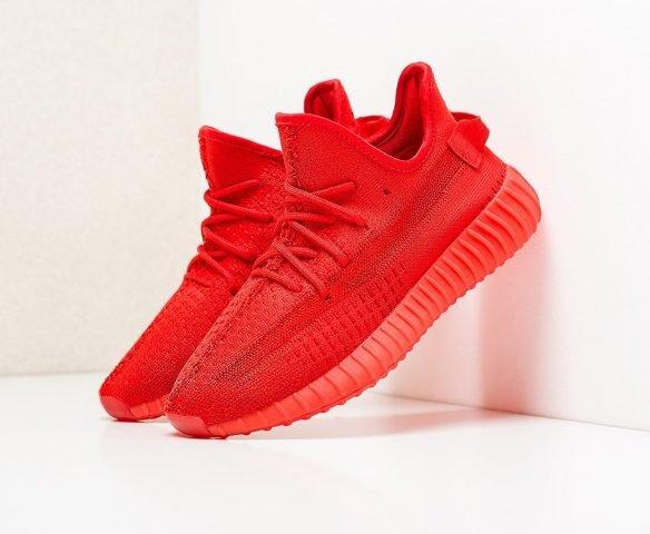 Adidas Yeezy 350 Boost v2 красные