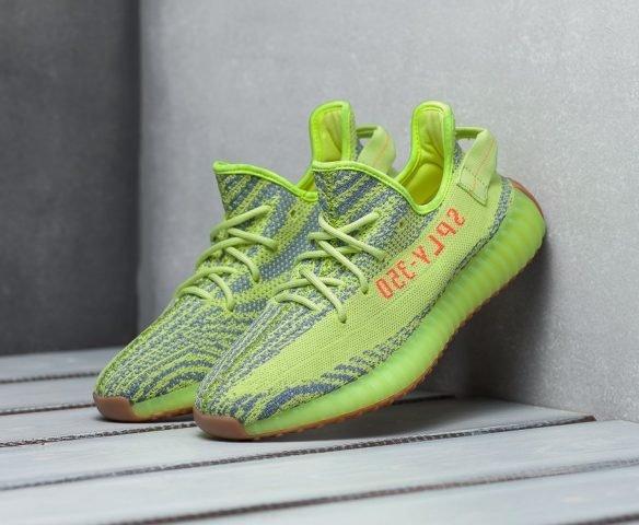 Adidas Yeezy 350 Boost v2 зеленые