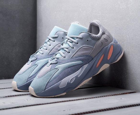Adidas Yeezy Boost 700 серо-голубые