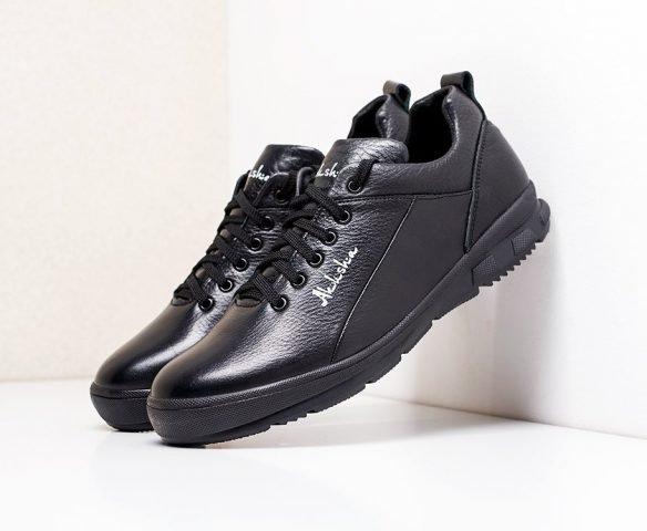 Fashion leather black