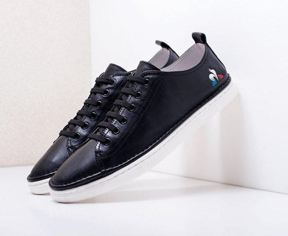 Fashion leather black-white