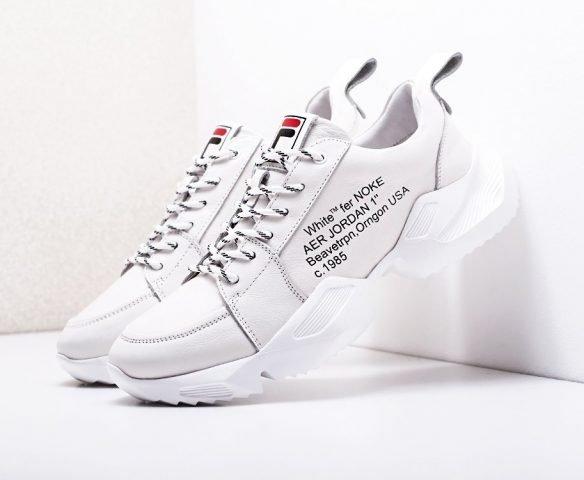 Fashion white-grey