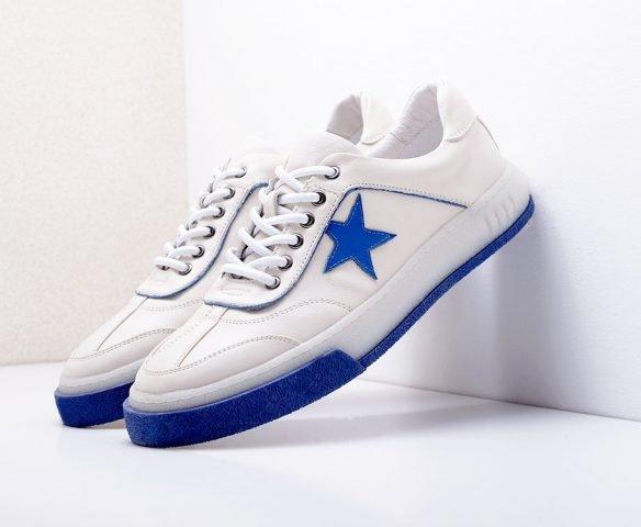 Fashion star white-blue