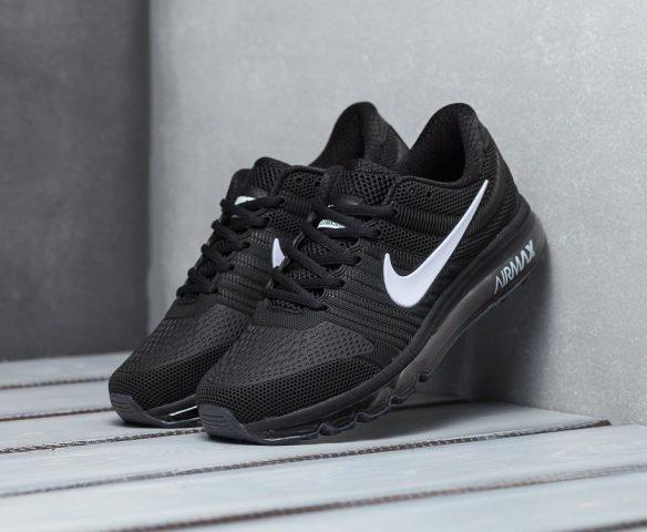 Nike Air Max 2017 чёрные с белым