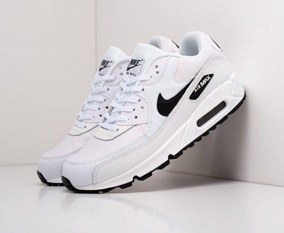 Nike Air Max 90 белые с черным