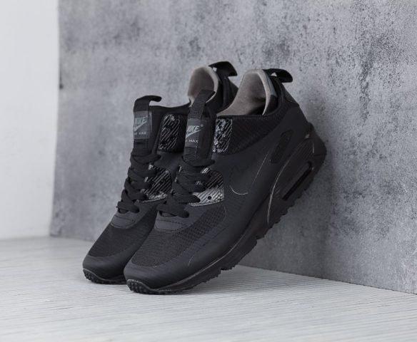 Nike Air Max 90 Mid winter черные