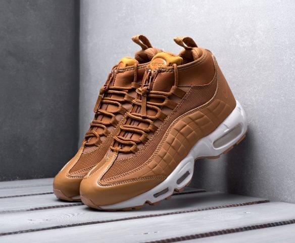 Nike Air Max 95 Sneakerboot коричневые