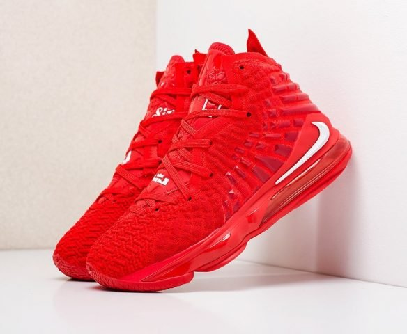 Nike Lebron XVII красные