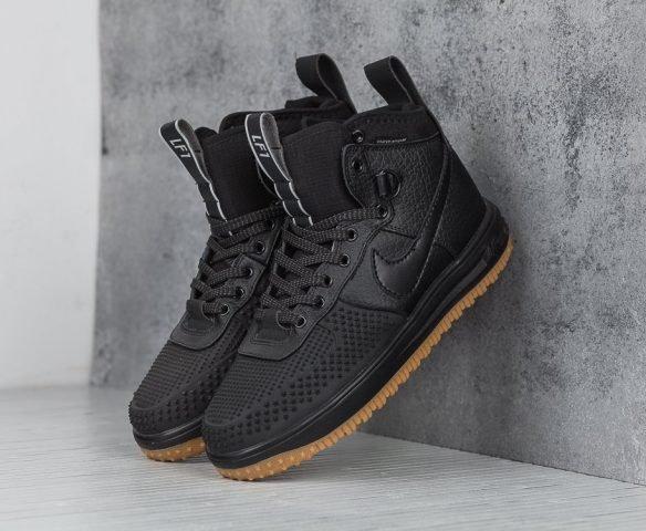 Nike Lunar Force 1 Duckboot черные