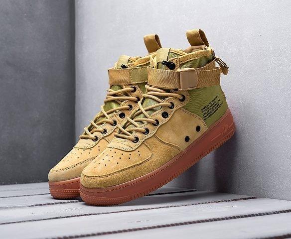 Nike SF Air Force 1 Mid green-brown