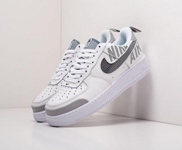 Nike Air Force 1 Low белые с серым