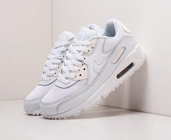 Nike Air Max 90 бело-голубые