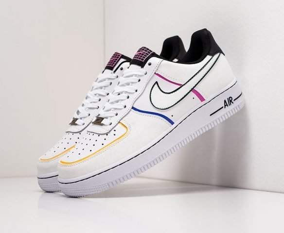 Nike Air Force 1 Low leather белые