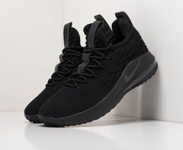 Nike Lebron XV mid черные