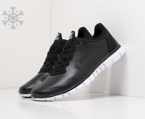 Nike Free Run 3.0 leather black-white
