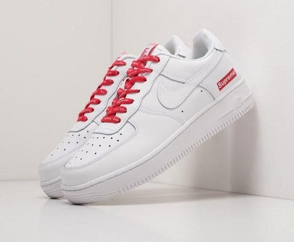 Nike x Supreme Air Force 1 Low белые