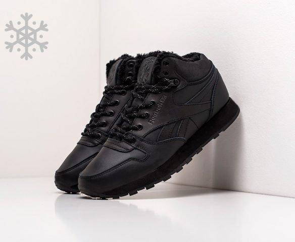 Reebok Classic Leather Mid Ripple leather black