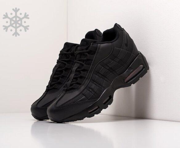 Nike Air Max 95 черные зимние