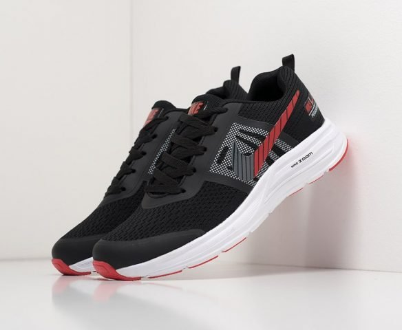 Nike Zoom low black-red