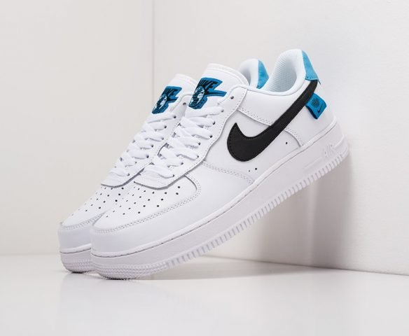 Nike Air Force 1 Low leather white-blue