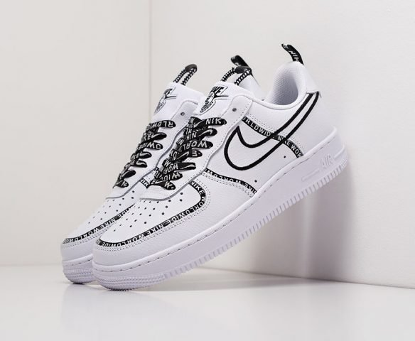 Nike Air Force 1 Low белые leather