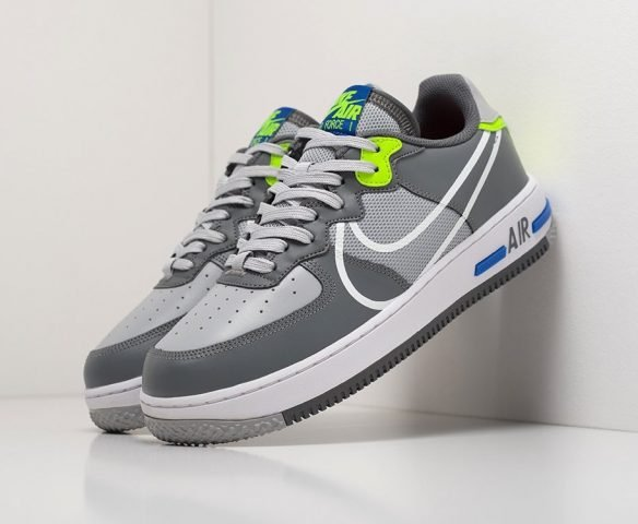 Nike Air Force 1 React серые