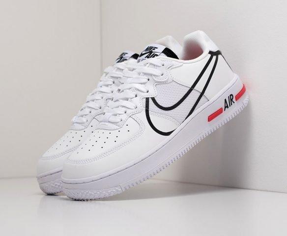 Nike Air Force 1 React белые