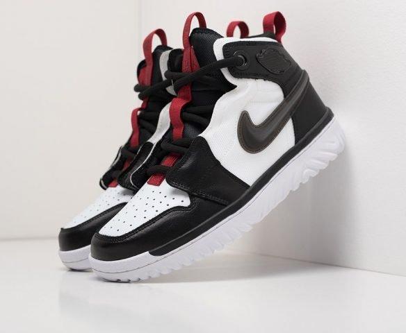 Nike Air Jordan 1 React High черные
