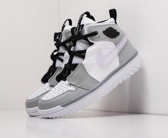 Nike Air Jordan 1 React High серые