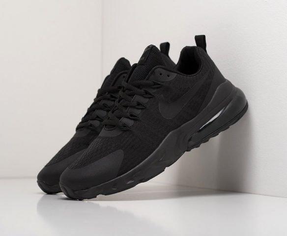 Nike Air Max 270 React black (черные)
