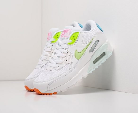 Nike Air Max 90 белые (white)