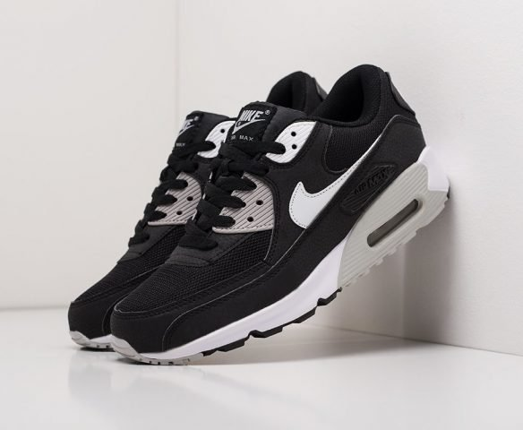 Nike Air Max 90 черные (black)
