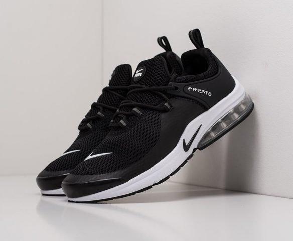 Nike Air Presto 2019 черные сетка