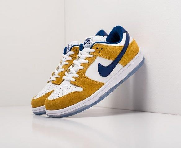 Nike SB Dunk Low white-yellow