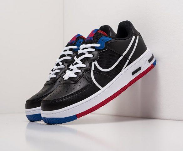 Nike Air Force 1 Low React черные