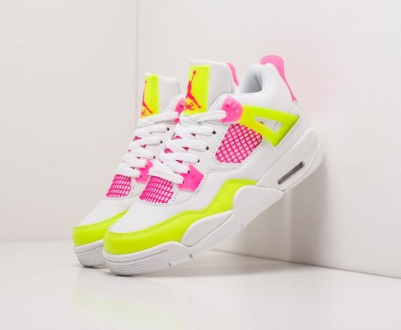 Nike Air Jordan 4 Retro wmn lthr grey