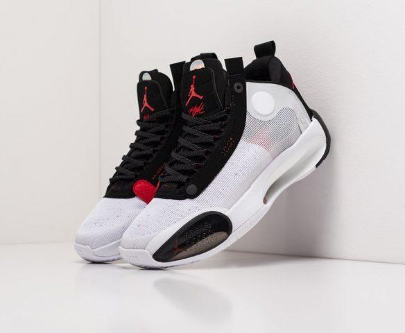Nike Air Jordan XXXIV wmn черно-белые