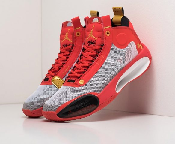Nike Air Jordan XXXIV red