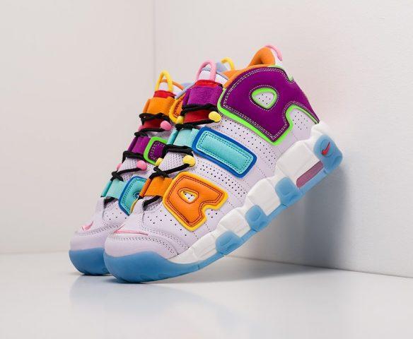 Nike Air More Uptempo mid разноцветные