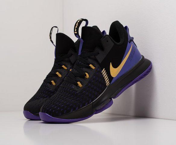 Nike Lebron Witness V black-purple