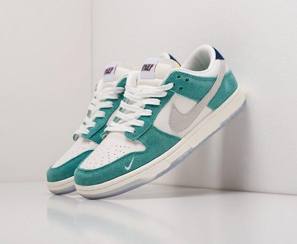 Nike SB Dunk Low white-green