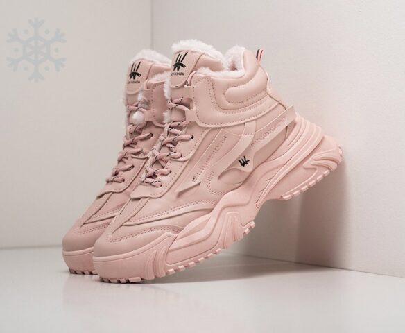 Ботинки Fashion pink winter