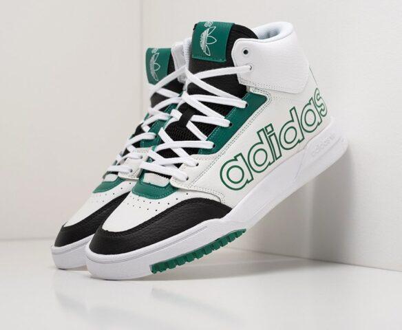 Adidas Drop Step High white