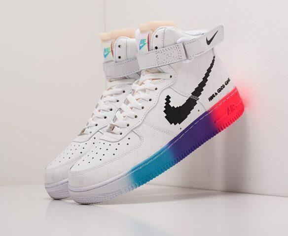 Nike Air Force 1 белые man
