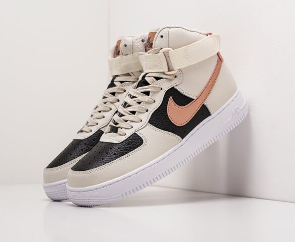 Nike Air Force 1 white высокие