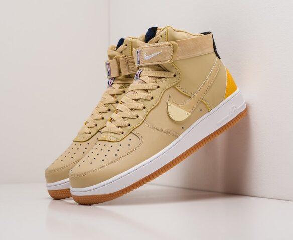 Nike Air Force 1 High желтые