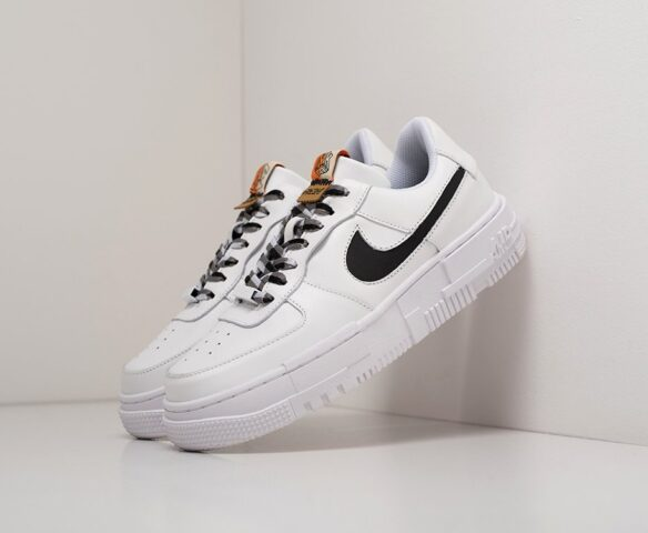 Nike Air Force 1 Pixel Low white. Вид 1